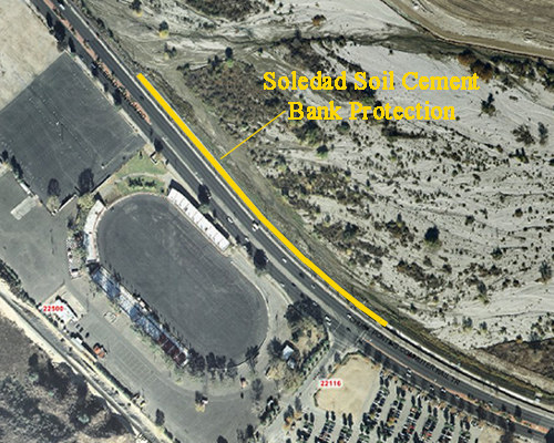 soledad soil cement bank protection